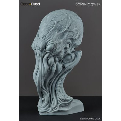 Photo2: THE ART OF DOMINIC QWEK / Cthulhu - Premium Scale Bust, Resin Model Kit (Free Shipping)