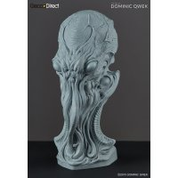 THE ART OF DOMINIC QWEK / Cthulhu - Premium Scale Bust, Resin Model Kit (Free Shipping)