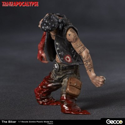 Photo2: Tales from the Apocalypse, The Biker - 1/16 Scale Zombie Plastic Model Kit