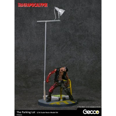 Photo1: Tales from the Apocalypse: Diorama Collection, The Parking Lot - 1/16 scale Resin Model Kit