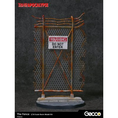 Photo2: Tales from the Apocalypse: Diorama Collection, The Fence - 1/16 scale Resin Model Kit