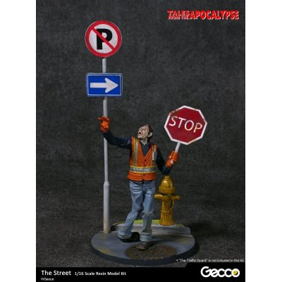 Photo1: Tales from the Apocalypse: Diorama Collection, The Street - 1/16 scale Resin Model Kit