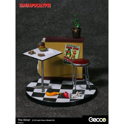 Photo2: Tales from the Apocalypse: Diorama Collection, The Diner - 1/16 scale Resin Model Kit