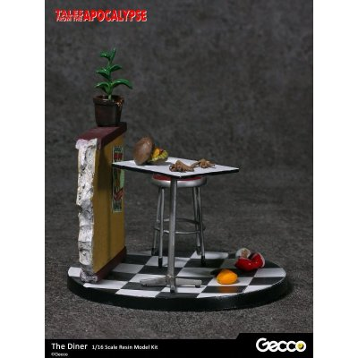 Photo4: Tales from the Apocalypse: Diorama Collection, The Diner - 1/16 scale Resin Model Kit