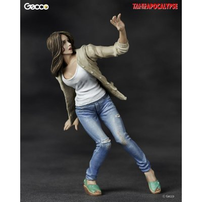 Photo2: Tales from the Apocalypse, The Heroine / She - 1/16 Scale Zombie Plastic Model Kit