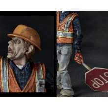Other Images2: Tales from the Apocalypse, The Traffic Guard - 1/16 Scale Zombie Plastic Model Kit