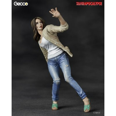 Photo1: Tales from the Apocalypse, The Heroine / She - 1/16 Scale Zombie Plastic Model Kit