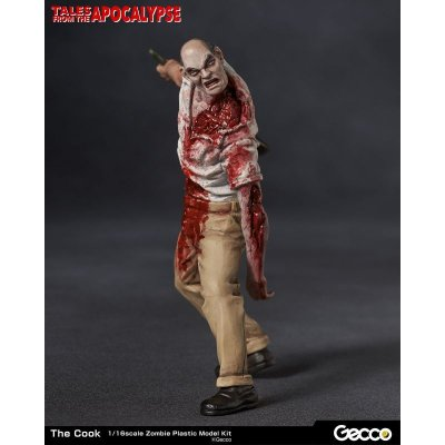 Photo2: Tales from the Apocalypse, The Cook - 1/16 Scale Zombie Plastic Model Kit