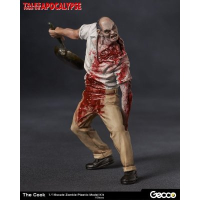Photo1: Tales from the Apocalypse, The Cook - 1/16 Scale Zombie Plastic Model Kit