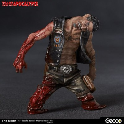 Photo1: Tales from the Apocalypse, The Biker - 1/16 Scale Zombie Plastic Model Kit