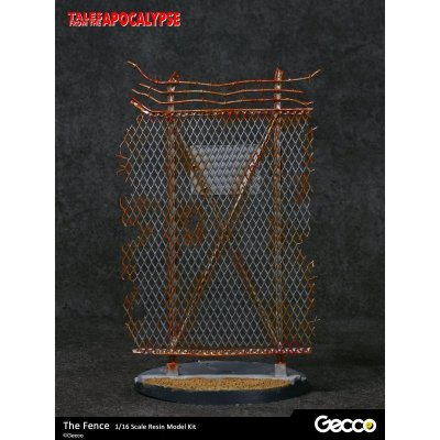 Photo3: Tales from the Apocalypse: Diorama Collection, The Fence - 1/16 scale Resin Model Kit