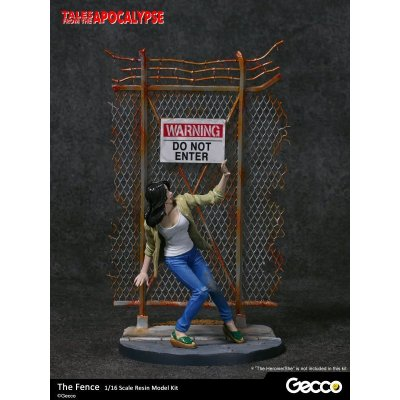 Photo1: Tales from the Apocalypse: Diorama Collection, The Fence - 1/16 scale Resin Model Kit