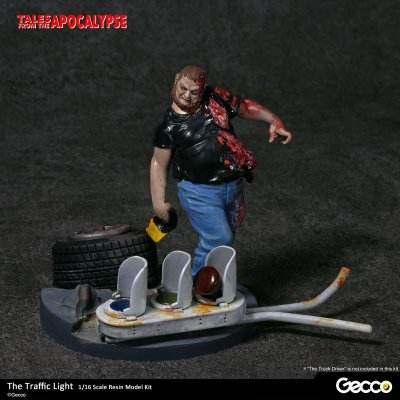 Photo1: Tales from the Apocalypse: Diorama Collection, The Traffic Light - 1/16 scale Resin Model Kit