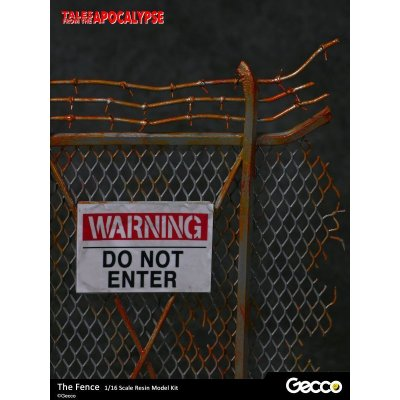 Photo4: Tales from the Apocalypse: Diorama Collection, The Fence - 1/16 scale Resin Model Kit