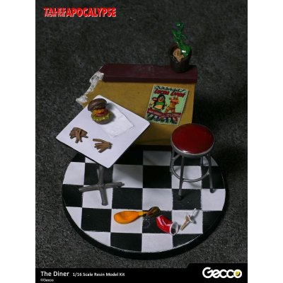 Photo3: Tales from the Apocalypse: Diorama Collection, The Diner - 1/16 scale Resin Model Kit