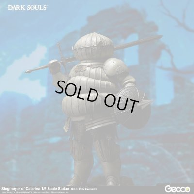 Photo1: DARK SOULS, Siegmeyer of Catarina 1/6 Scale Statue, SDCC 2017 Exclusive