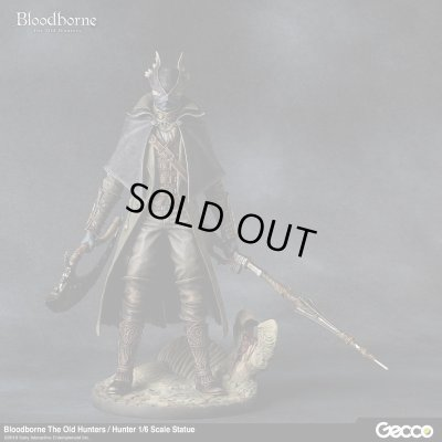 Photo1: Bloodborne The Old Hunters / Hunter 1/6 Scale Statue