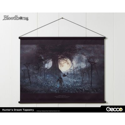 Photo1: Bloodborne, Hunter's Dream Tapestry