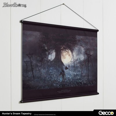 Photo2: Bloodborne, Hunter's Dream Tapestry