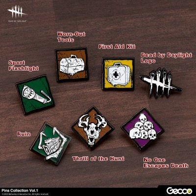 Photo1: Dead by Daylight, Pins Collection Vol.1