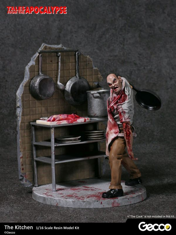 Tales From The Apocalypse Diorama Collection The Kitchen