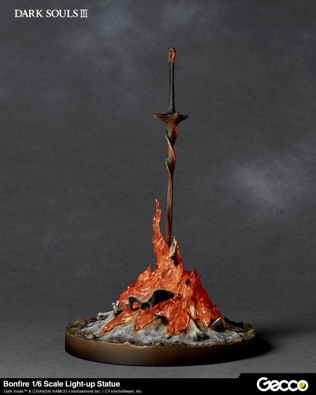 Gecco DARK SOULS III 1//6 Scale Bonfire Light-up Statue
